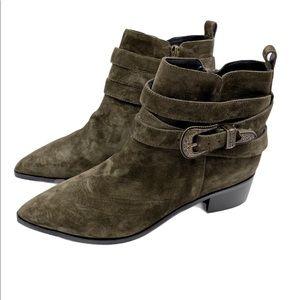 Marc Fisher NWOB Mlyandi wester style booties